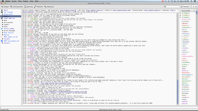 Screenshot of Smuxi 0.10 on Mac OS X