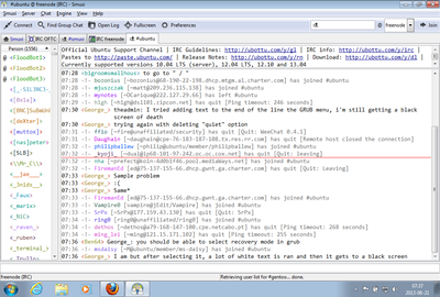 Screenshot of Smuxi 0.8.11 on Windows 7