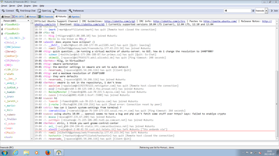 Screenshot of Smuxi 0.9 on Windows 7